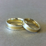 Commissioned wedding bands