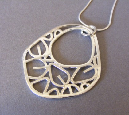 Large Chunky Outline Pendant