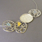 Four Circle Etch Neckpiece