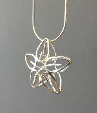 Leaf Form Pendant
